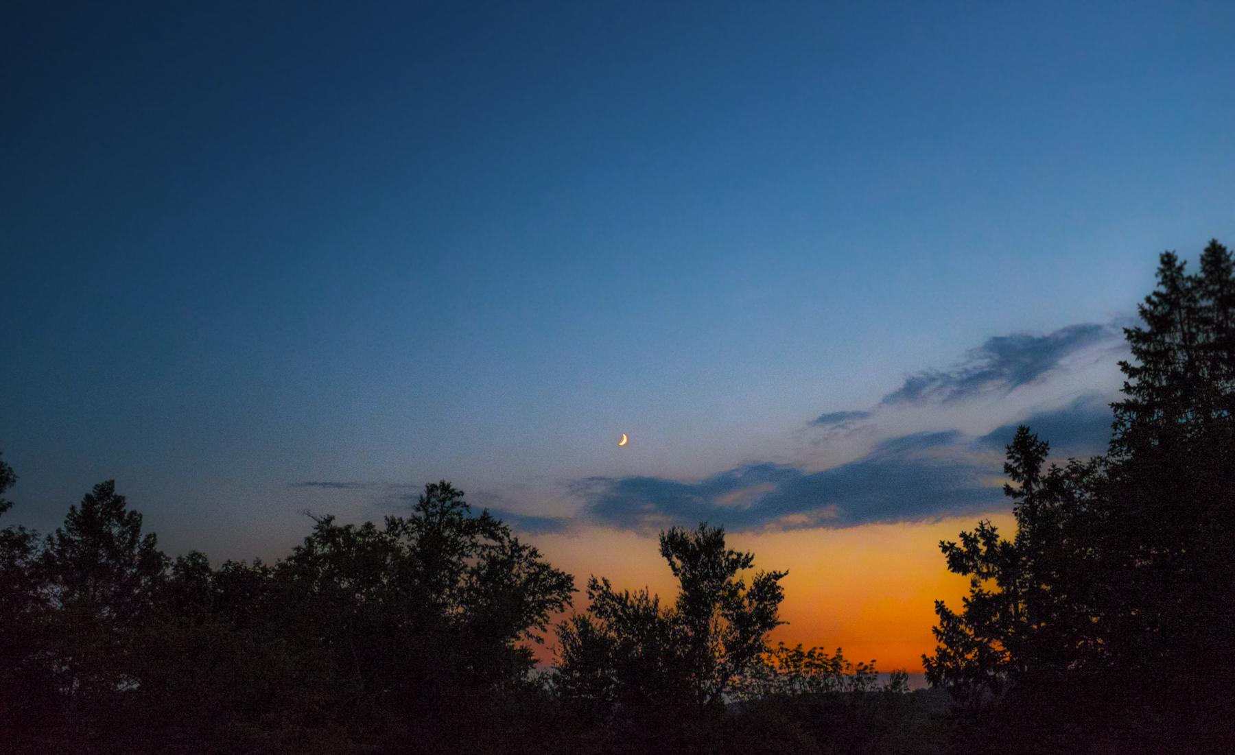 sunset at nannys